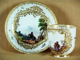 """Арт-студия """"Кентавр"""" - Чайная пара. 1720-1730-е годы №010080"""