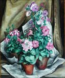 "Арт-студия ""Кентавр"" - Клас-Тобуа Альберт Флориан (1883 - 1945) - ""Цветы"" 1916 г. №010341"