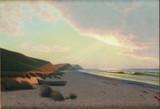 """Арт-студия """"Кентавр"""" - Ванг Альберт (1864-1930 ) - """"Закат на море"""" 1929г №010411"""