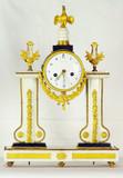 """Арт-студия """"Кентавр"""" - Cтаринные каминные часы 18 века с боем в стиле классицизма. №010446"""