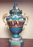"""Арт-студия """"Кентавр"""" - Дворцовая ваза с портретом Марии Лещинской из собрания короля Людовика XV №010466"""
