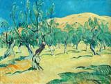 """Арт-студия """"Кентавр"""" - Симонсен Алекс (1884-1962) - """"Пейзаж с деревьями на склоне холма"""" №010474"""