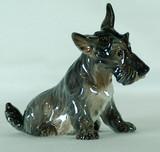 """Арт-студия """"Кентавр"""" - Фарфоровая статуэтка собаки породы Скотч-терьер №010538"""