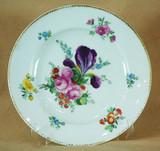 """Арт-студия """"Кентавр"""" - Тарелка с цветочным орнаментом. №010568"""