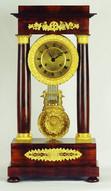 """Арт-студия """"Кентавр"""" - Часы каминные  в стиле ампир №010581"""