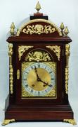 """Арт-студия """"Кентавр"""" - Старинные английские каминные часы с боем №010756"""