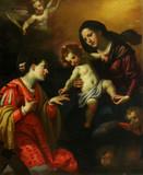 """Арт-студия """"Кентавр"""" - Виньяли Якопо (1592-1664) - """"Мистическое обручение святой Екатерины Александрийской""""  №010837"""