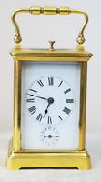 """Арт-студия """"Кентавр"""" - Старинные каретные часы с репетиром и будильником. №011190"""