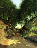 "Арт-студия ""Кентавр"" - Йенсен Карл Милтон (1855-1928) - ""В лесу"" 1886 г №011196"