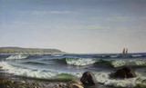 """Антиквариат.ру - """"Утро на море"""", 1876г №011391 - Известный живописец,выдающийся маринист. В 1868 поступил в копенгагенскую Королевскую Академию художеств, где он был учеником известного пейзажиста Вильгельма Куна. После 1870 года много путешествовал, совершил образовательные поездки в Нидерланды и Бельгию, в 1914 и 1919 годах побывал в Южной Германии и в Италии. Однако, в течение пятидесяти лет художник проводил каждое лето на острове Борнхольм, отдавая предпочтение здешним пейзажам и морским видам, которые принесли ему широкую известность и привлекли внимание заказчиков из крупнейших аристократических домов Европы. В 1883 году Брандт выставил свои работы в копенгагенской Академии художеств, с 1872 по 1927 неизменно посылал картины на ежегодную выставку в Шарлоттенбурге. Принимал участие в международных выставочных проектах, в том числе экспонировал свои произведения в Берлине в 1901 году (SchultesArtCentre), в Институте искусств Чикаго в 1895 году и на Всемирной выставке в Чикаго в 1893 году."""