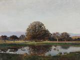 """Арт-студия """"Кентавр"""" - """"Деревья у озера"""" 1909г №011713"""