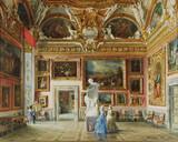 "Арт-студия ""Кентавр"" - Калиго Доменико (1838-1911) - ""Зал Юпитера в Палаццо Питти""  №011748"