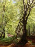 """Арт-студия """"Кентавр"""" - """"Лесной пейзаж"""" №011776"""