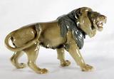 """Арт-студия """"Кентавр"""" - Фарфоровая статуэтка """"Рычащий лев"""" №011801"""