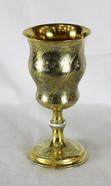 """Арт-студия """"Кентавр"""" - Старинный серебряный кубок для вина с растительным орнаментом №011894"""