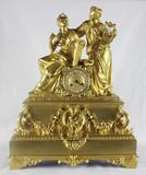 """Арт-студия """"Кентавр"""" - Большие дворцовые старинные часы с боем """"Богини музыки"""" №012044"""