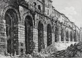 """Арт-студия """"Кентавр"""" - Луиджи Россинни (1790-1857) - """"Вид римского акведука"""" №012131"""