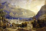 """Арт-студия """"Кентавр"""" - Барнард Джорж (1807-1890) - """"Альпийская деревня"""" №012570"""