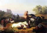 """Арт-студия """"Кентавр"""" - """"Пастухи лошадей в Римской Кампанье"""" №012579"""