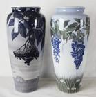 """Арт-студия """"Кентавр"""" - Парные вазы в стиле модерн (ар-нуво) №012695"""