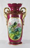 """Арт-студия """"Кентавр"""" - Большая антикварная ваза с цветочным орнаментом №012846"""