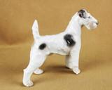 """Арт-студия """"Кентавр"""" - Фарфоровая статуэтка собаки породы Фокстерьер №013076"""