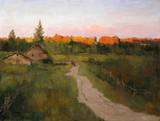 """Арт-студия """"Кентавр"""" - """"На закате. Дорога в деревню"""" №013355"""