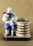 """Арт-студия """"Кентавр"""" - Фарфоровая статуэтка """"Пьющий старик"""" №013399"""