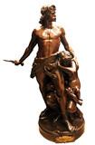 """Арт-студия """"Кентавр"""" - Бронзовая скульптура """"Защита семьи"""" №013430"""