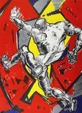 """Арт-студия """"Кентавр"""" - Литография из цикла """"Сквозь стену"""" №013557"""