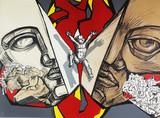 """Арт-студия """"Кентавр"""" - Литография из цикла """"Сквозь стену"""" №013558"""