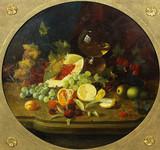 """Арт-студия """"Кентавр"""" - """"Натюрморт с дыней и виноградом"""" №013587"""