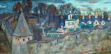 """Арт-студия """"Кентавр"""" - """"Раннее утро у стен Печорского монастыря"""" №013628"""