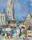 """Арт-студия """"Кентавр"""" - """"Памятник Рубенсу. Антверпен"""" №013713"""
