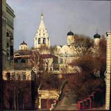 """Арт-студия """"Кентавр"""" - """"Вид на монастырь близ Таганки в Москве"""" №013902"""