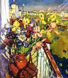 """Арт-студия """"Кентавр"""" - """"Цветы на балконе"""" №013940"""
