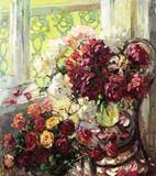 """Арт-студия """"Кентавр"""" - """"Пионы и розы"""" №013972"""
