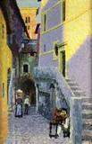 """Арт-студия """"Кентавр"""" - """"Улица в итальянском городе"""" №014119"""
