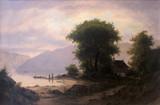 """Арт-студия """"Кентавр"""" - """"Закат солнца на Бриенцском озере"""" №014242"""