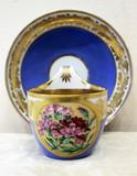 """Арт-студия """"Кентавр"""" - Чайная пара с изображением гвоздик №014291"""