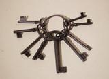 Антиквариат.ру - Связка старинных ключей №014333