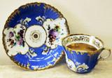 """Арт-студия """"Кентавр"""" - Чайная пара с изображением цветов №014346"""