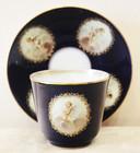 """Арт-студия """"Кентавр"""" - Большая чайная пара с изображением амуров №014355"""