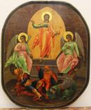 """Арт-студия """"Кентавр"""" - Старинная икона """"Воскресение Господа Нашего Иисуса Христа"""" №014577"""