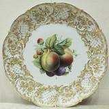 """Арт-студия """"Кентавр"""" -  Большое фарфоровое блюдо с изображением фруктов и ягод №014598"""
