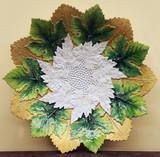 """Арт-студия """"Кентавр"""" - Старинная фарфоровая тарелка с цветочным орнаментом №014632"""