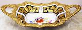 """Арт-студия """"Кентавр"""" - Старинная конфетница с растительным декором №014750"""