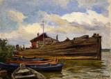 """Арт-студия """"Кентавр"""" - """"Лодки"""" №014764"""