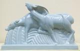 """Арт-студия """"Кентавр"""" - Скульптура """"Антилопы"""" в стиле ар-деко №014862"""