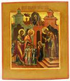 """Арт-студия """"Кентавр"""" - Старинная икона """"Введение Богородицы во храм"""" №014866"""